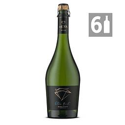 Pack 6 La Joya Espumante Extra Brut  Charmat Chardonnay