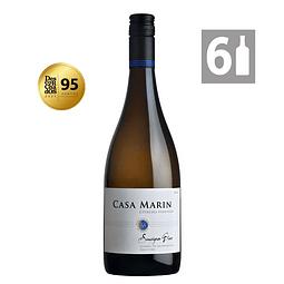 Pack 6 Cipreses Sauvignon Blanc - Viña Casa Marín