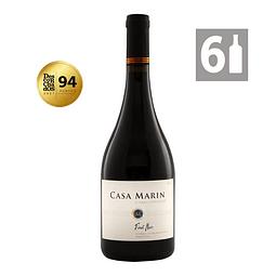 Pack 6 Pinot Noir Litoral 2018