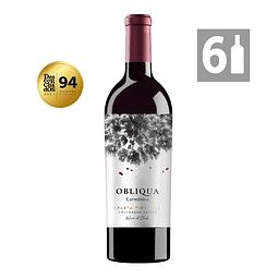 Pack 6 Obliqua Carménère Grandes Vinos