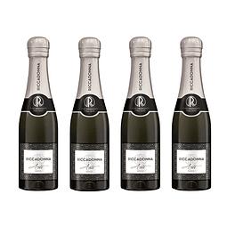 Pack 4 botellas 200cc Espumante Asti - Ricadonna