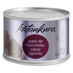 Paté de morchelas con un toque de Oporto 125 gr - Katankura