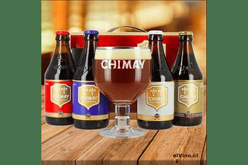 ¡Chimay, la auténtica cerveza belga en elVino.cl!
