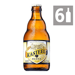 Pack 6  Kasteel Blond 7° 330 ml