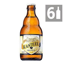 Pack 6  Kasteel Blond 7° 330 ml