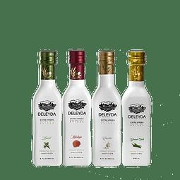 Pack 4 Aceite de Oliva  ESPECIADOS  Extra Virgen 250 ml - Deleyda