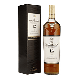 Whisky The Macallan 12 años Sherry Oak Cask