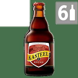 Pack 6 Cerveza Kasteel Rouge 330 ml