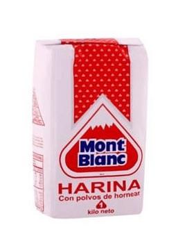 Harina Montblanc con Polvos