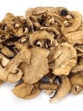 Champiñones Portobello deshidratados