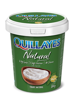 Yogur Natural Quillayes 800gr