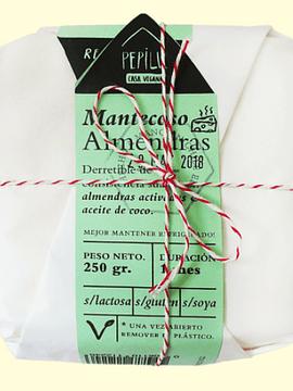Queso vegetal- Mantecoso de Almendras