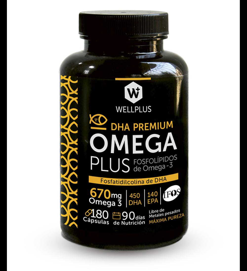 OmegaPlus 3  Wellplus 180cap