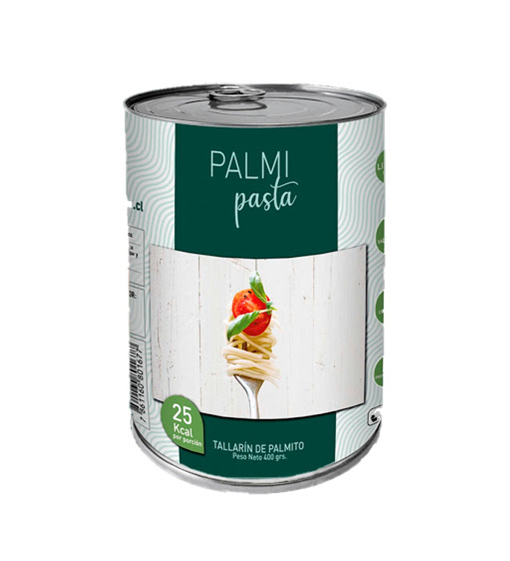 Tallarines de Palmitos, PalmiPasta