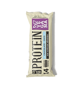 Barra Proteica Vegana Chocolate-Coco de Wild Foods