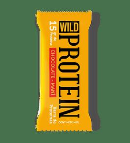 Barra Proteica Maní-Cacao de Wild Foods