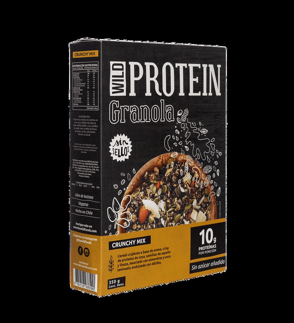 Granola Wild Protein, 350gr