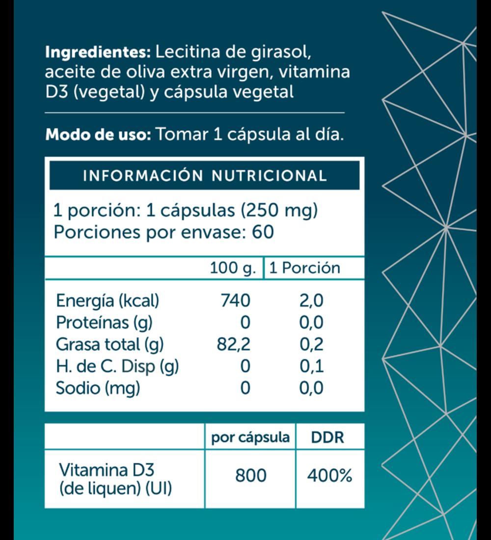Vitamina D3 de Wellplus