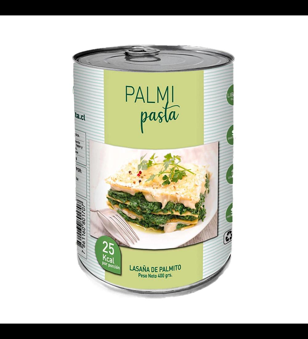 Láminas de Palmitos para Lasagna, PalmiPasta 400gr