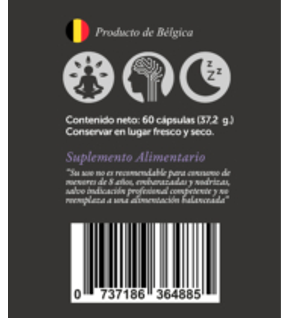 NeuroCalm de Wellplus 60 cap.