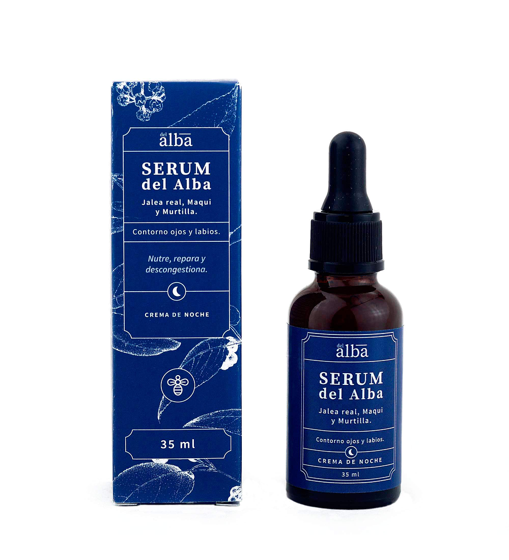 Serum facial Botánico Apícola del Alba 35ml