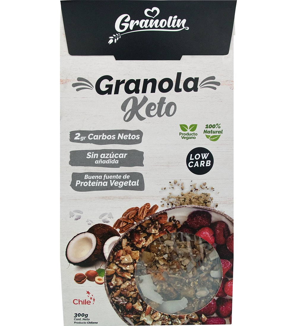 Granola Keto, Granolín 300gr