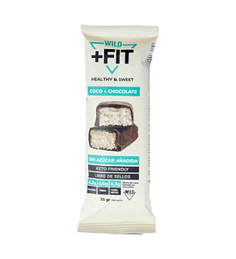 Barra Wild Fit chocolate+coco