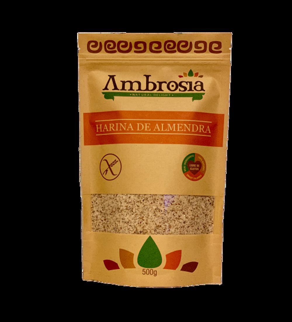 Harina de Almendra, 500 gr Ambrosia