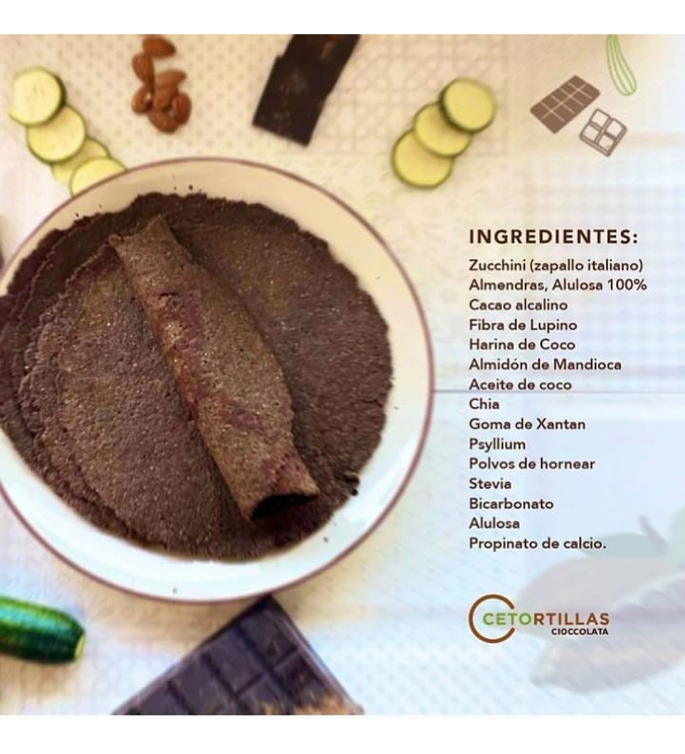 Cetortillas Cioccolata XL