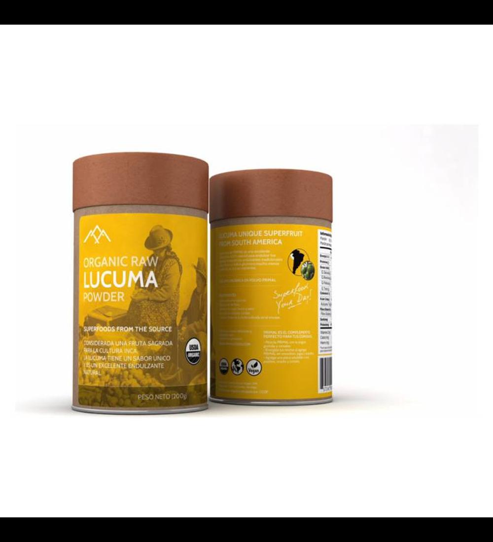 Lúcuma orgánica en polvo de Primal 200g
