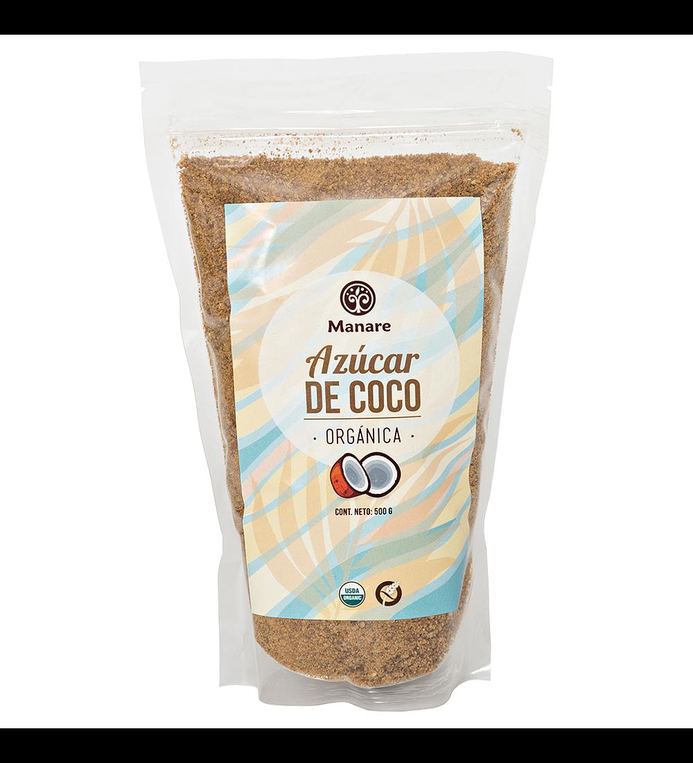 Azúcar de coco orgánica Manare 500g