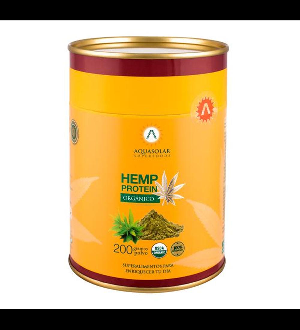 Proteína Hemp, 200gr Aquasolar