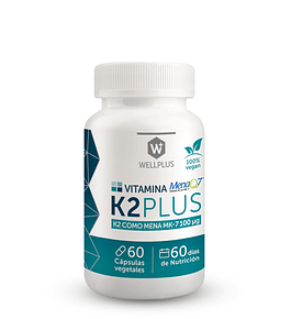 Vitamina K2 Wellplus