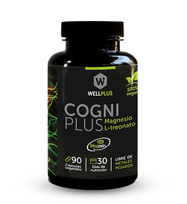 CogniPlus (Magnesio L-treonato) de Wellplus