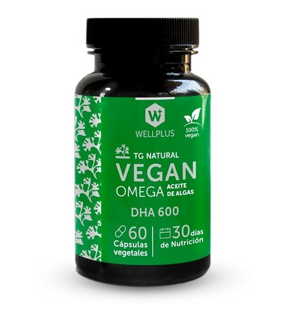 Vegan Omega DHA 600 de Wellplus