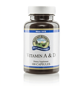 Vitamina A & D de Nature's Sunshine