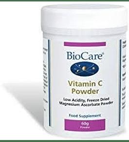 Vitamina C en polvo de BioCare