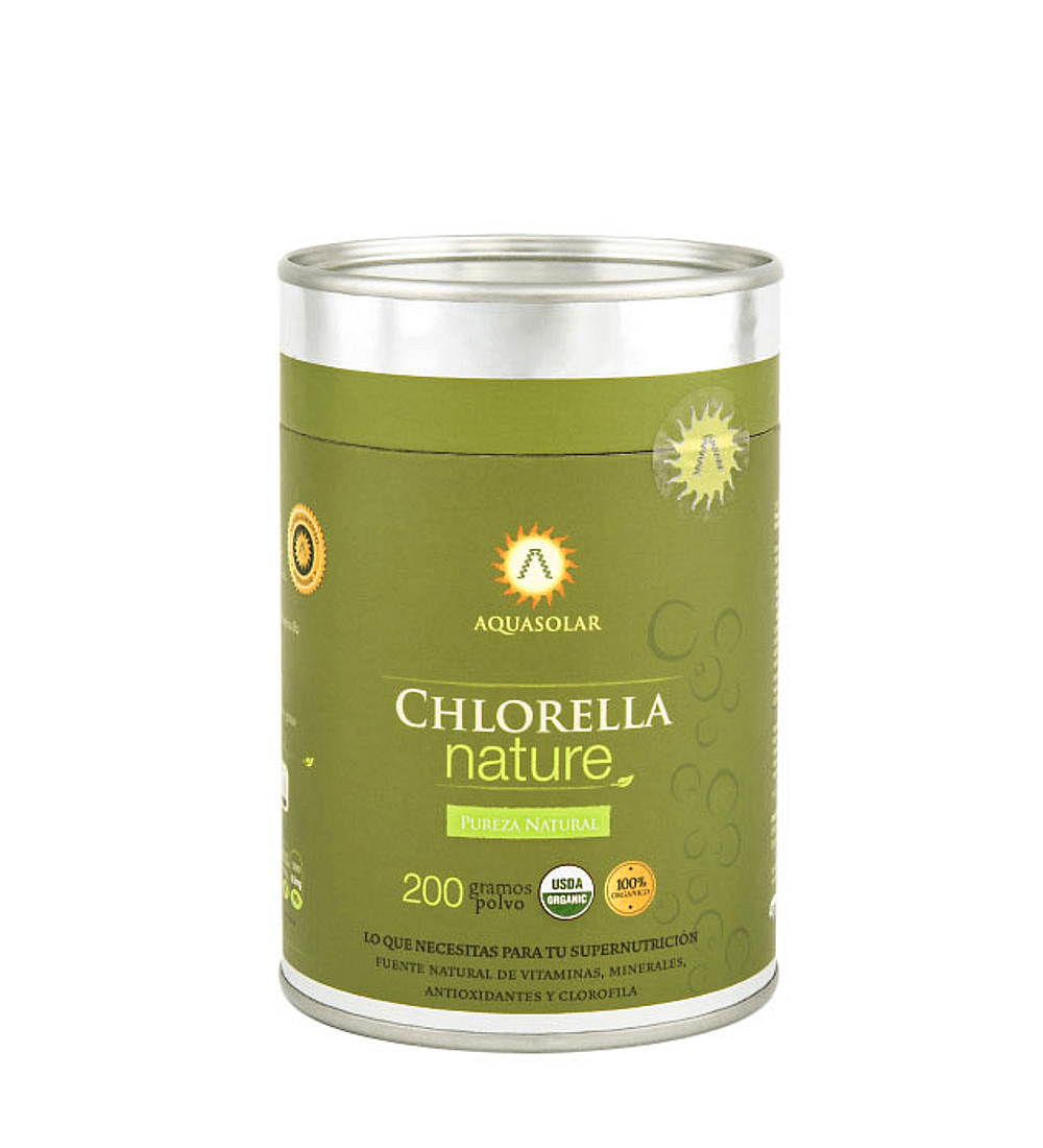 Chlorella Nature orgánica de Aquasolar