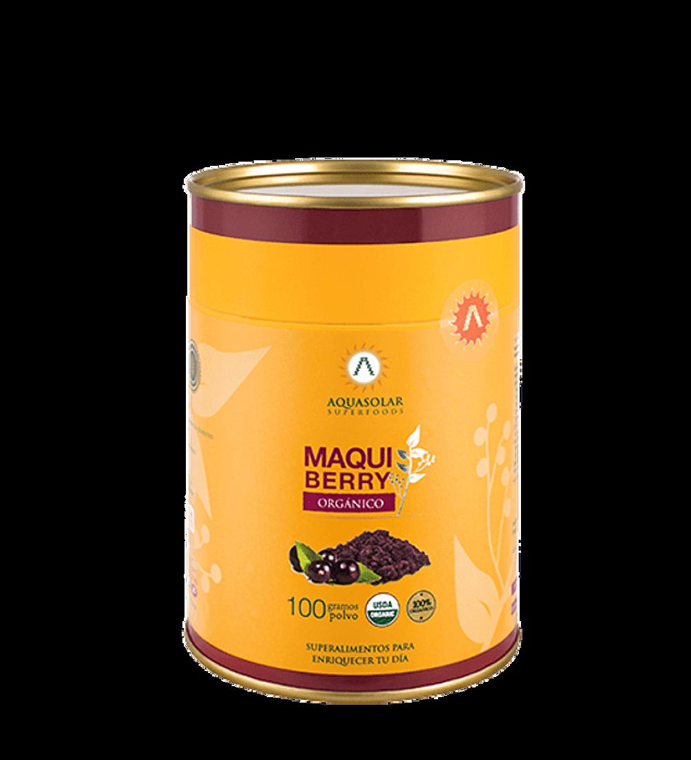 Maqui Berry orgánico de Aquasolar