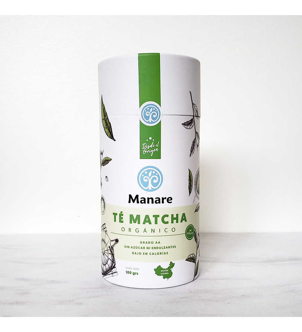 Té Matcha orgánico de Manare