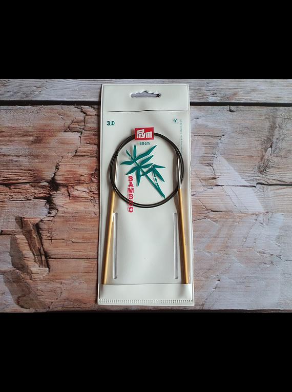 Palillo Circular de Bambú Número 3,0
