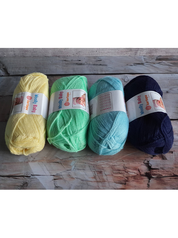 Woolly Baby Color K502
