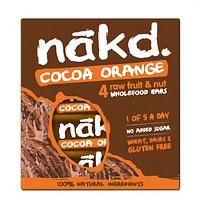 Barritas Nakd Cacao Naranja