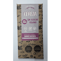 Chocolate  Sabores Sin Culpa Vegano Cereza
