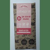 Chocolate  Sabores Sin Culpa Vegano Cranberry
