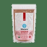 Cacao Orgánico en Polvo 200 g Manare