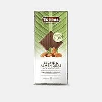 Chocolate Leche y Almendras Sin Azúcar Stevia