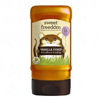 Syrup vainilla 350 gramos Marca Sweet Fredom