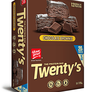 Barrita Proteica Twentys Brownie de Chocolate
