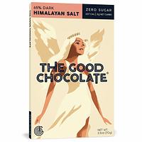 THE GOOD CHOCOLATE HIMALAYAN SALT 65% CACAO